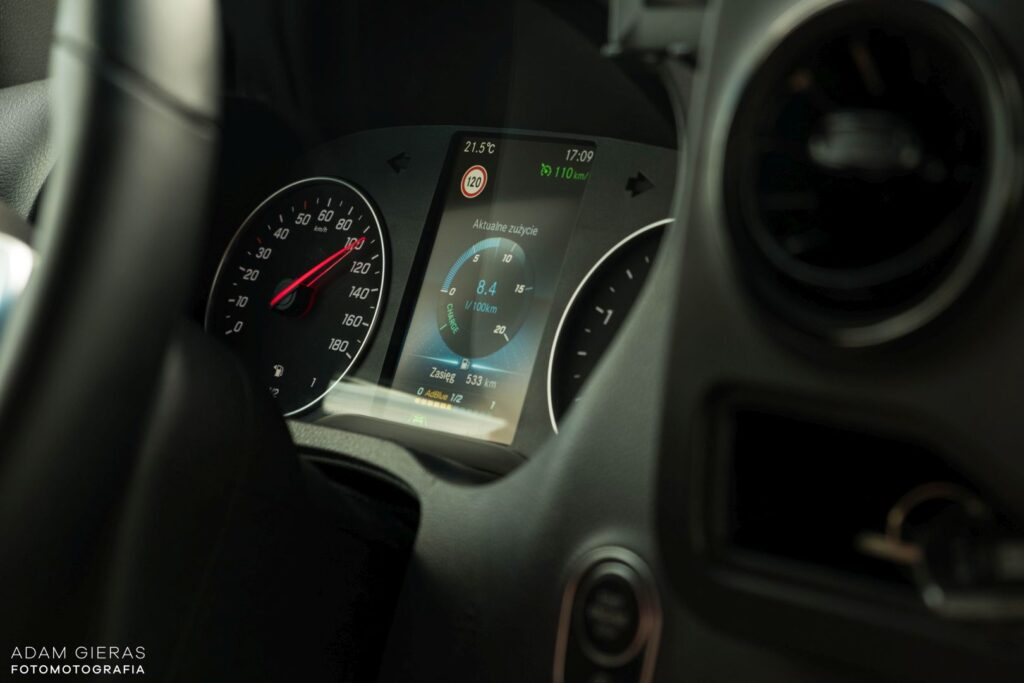 sprinter 13 1024x683 Test: Mercedes Sprinter 314 CDI   jeździ jak osobówka