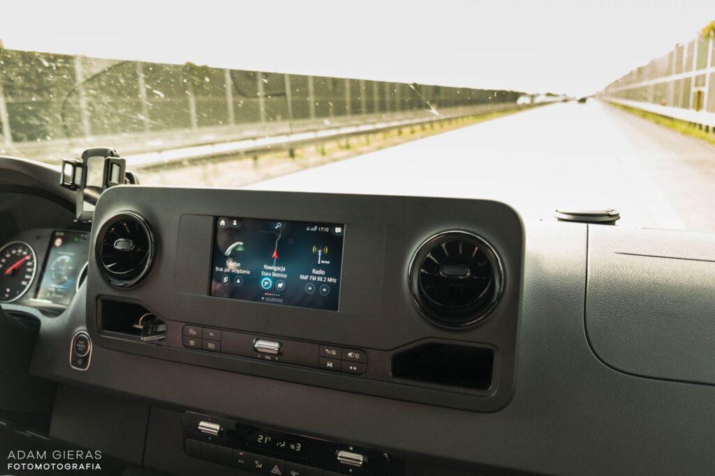 sprinter 14 1024x683 Test: Mercedes Sprinter 314 CDI   jeździ jak osobówka