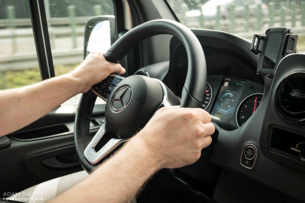 sprinter 16 1024x683 Test: Mercedes Sprinter 314 CDI   jeździ jak osobówka