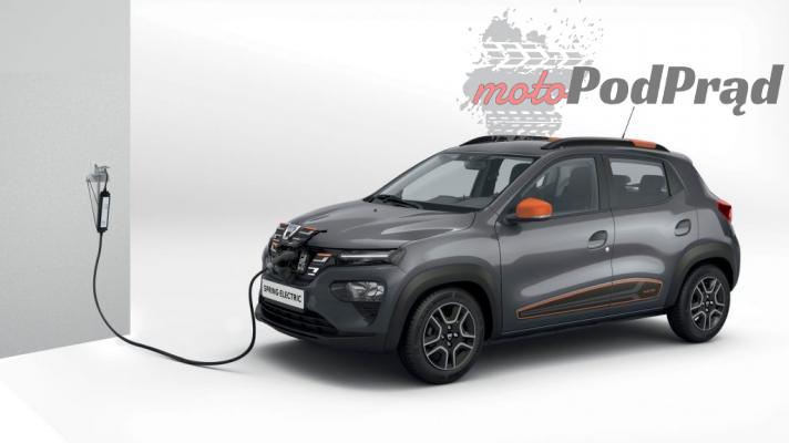 Dacia Spring 1 Elektryczna Dacia Spring   będzie tanio!
