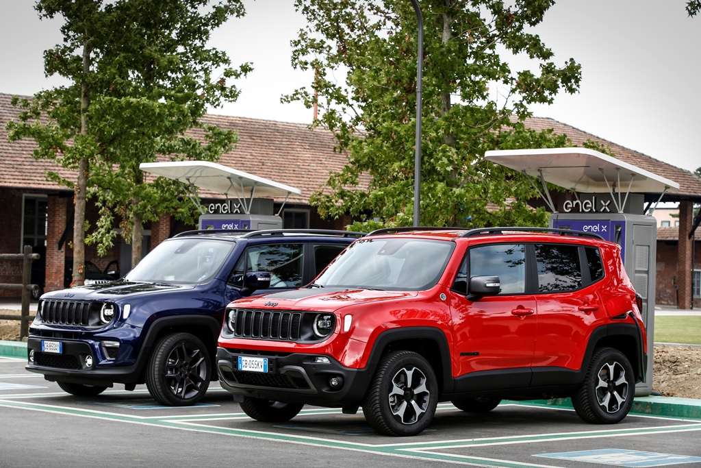 Jeep  4xe 17 Jeep Renegade 4xe i Jeep Compass 4xe wycenione