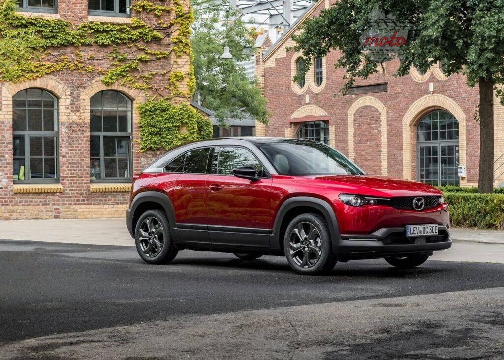 Mazda MX 30 2021 1280 11 1024x732 Nissan i Mazda obniżają ceny elektryków na polskim rynku