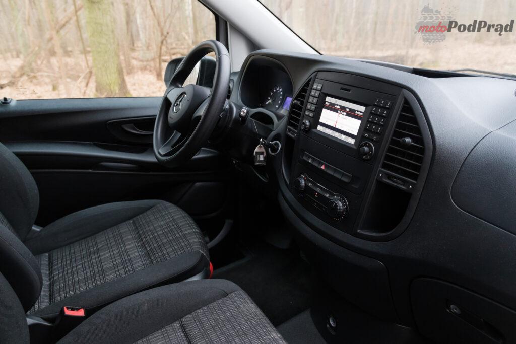 Mercedes – Benz eVito Furgon 111 – cale zycie na rezerwie 13 1024x683