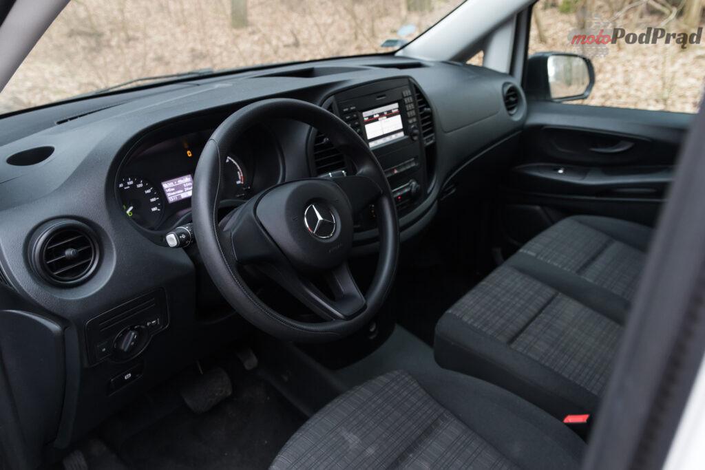 Mercedes – Benz eVito Furgon 111 – cale zycie na rezerwie 14 1024x683
