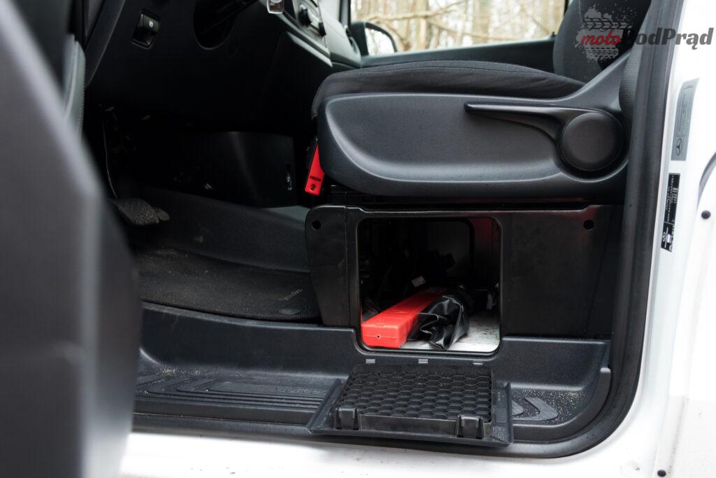 Mercedes – Benz eVito Furgon 111 – cale zycie na rezerwie 18 1024x683