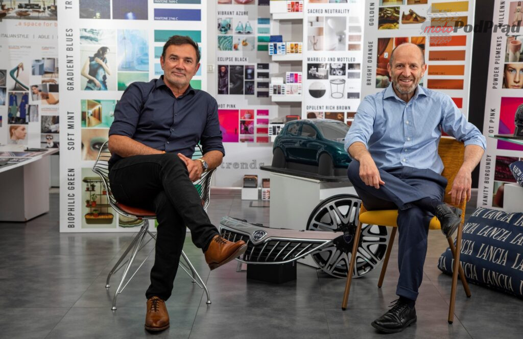 Luca Napolitano and Jean Pierre Ploue at Lancia Design 2 1024x664