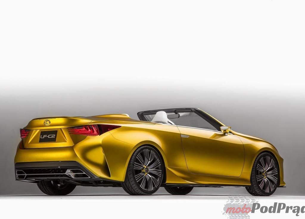 2153 1024x734 Lexus LF C2 Concept   pożądane cabrio!