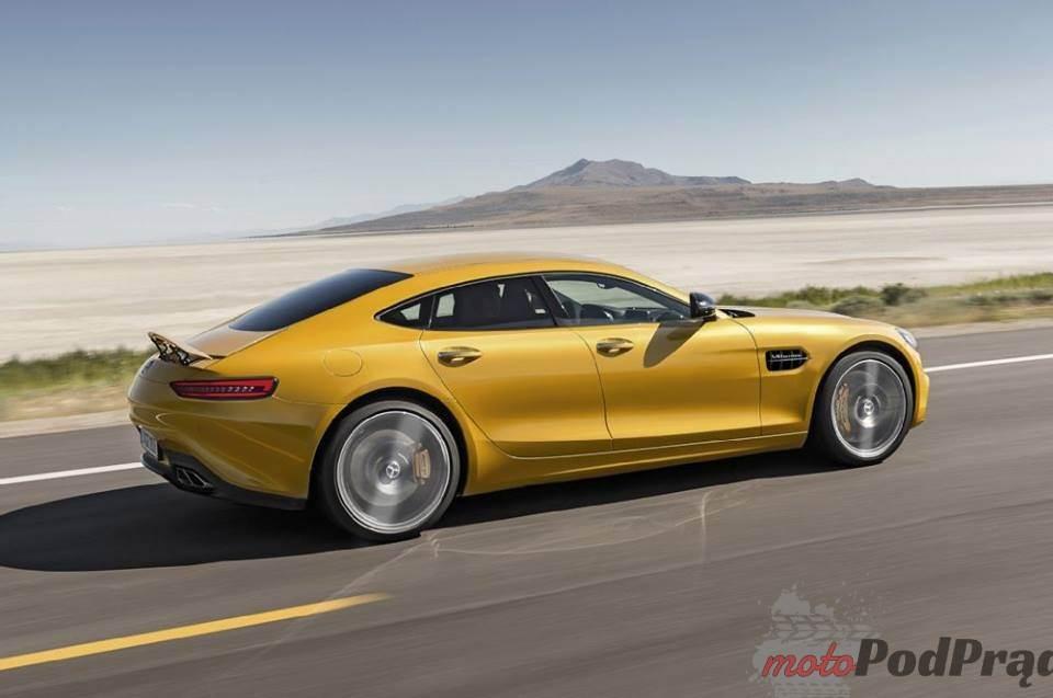 2219 Mercedes AMG GT 4, naprawdę?