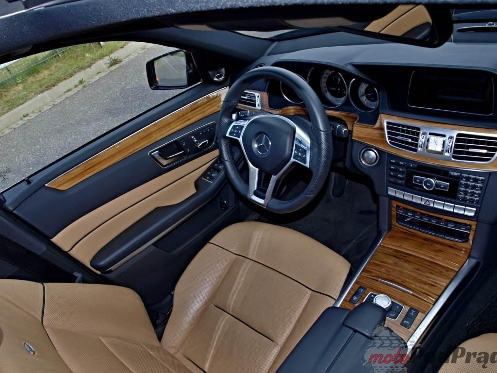 A091720 1024x768 Dostojny Pan ze Stuttgartu   test Mercedesa E350 Bluetec