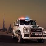 Brabus G 150x150 Radiowozy w Dubaju