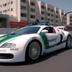 Bugatti Veyron 150x150 Radiowozy w Dubaju