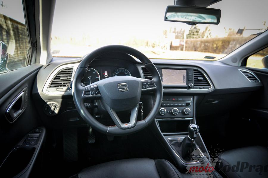 DSC 00821 Seat Leon ST X perience 2.0 TDI   niedoświadczone kombi