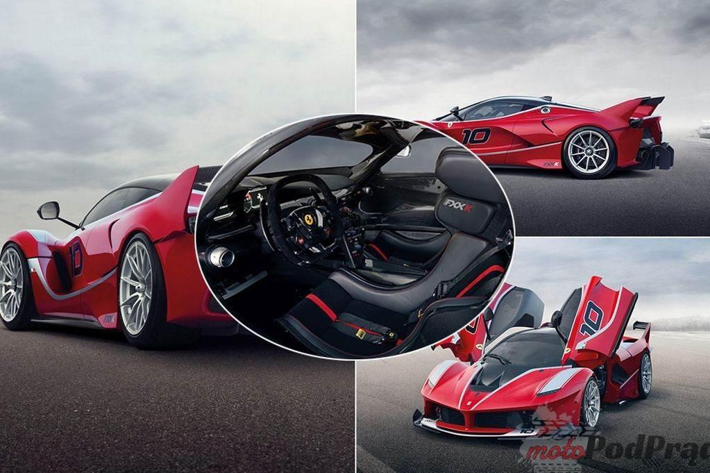 FXXK Ferrari FXX K: ekstremalnie dzikie 1050 KM