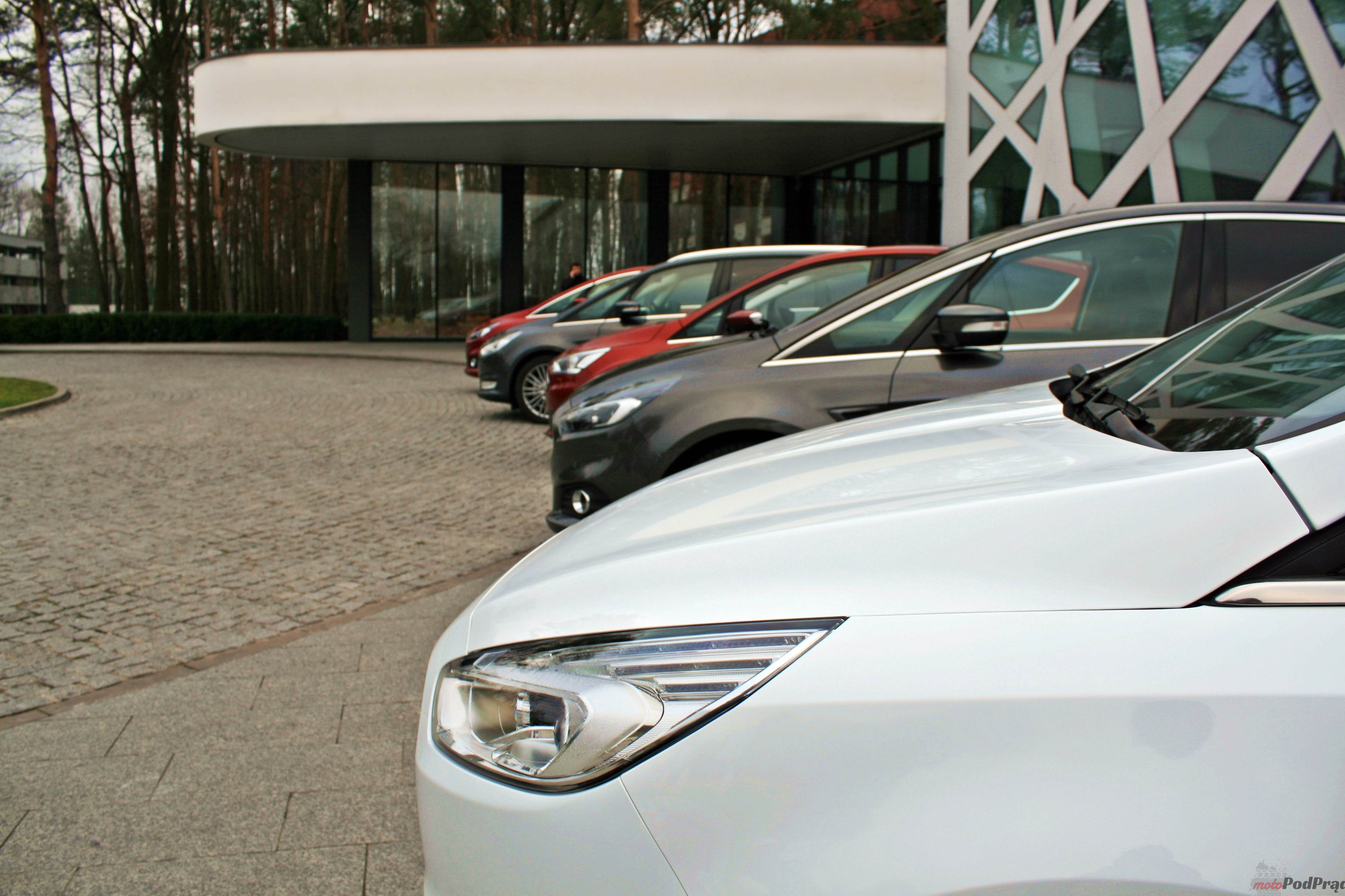 Ford samochody rodzinne 4 Nowości w rodzinie Forda