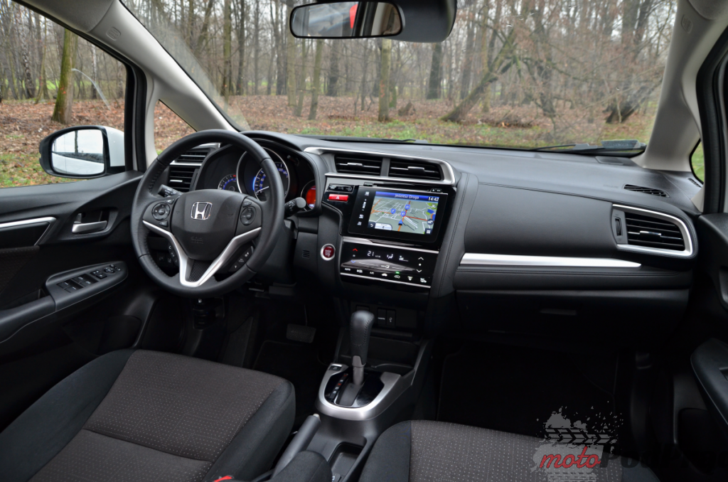 Honda Jazz interior (10)