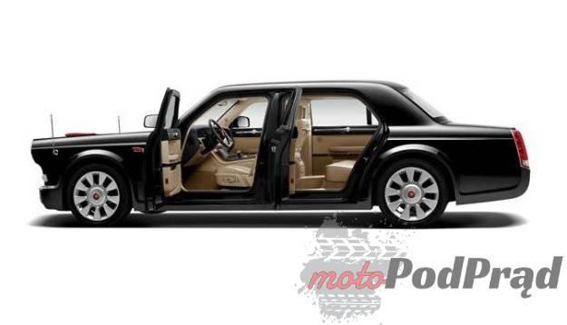 Hongqi tys dolarow auto 6399855 Chińska limuzyna za prawie milion $