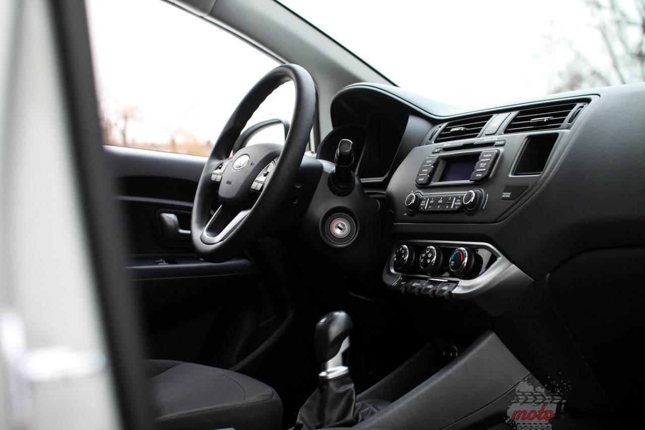 IMG 3063 Test: Kia Rio Sedan