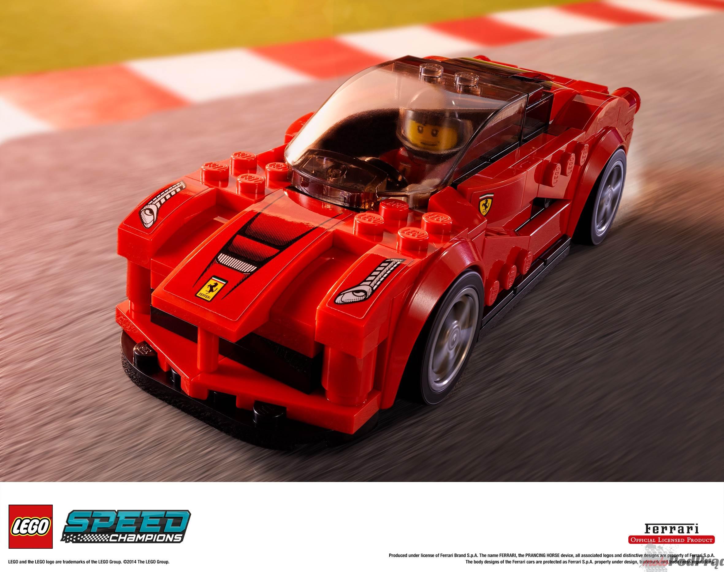 LSC 2HY2014 prod 75899 Porsche, Ferrari i McLaren w wersji LEGO!