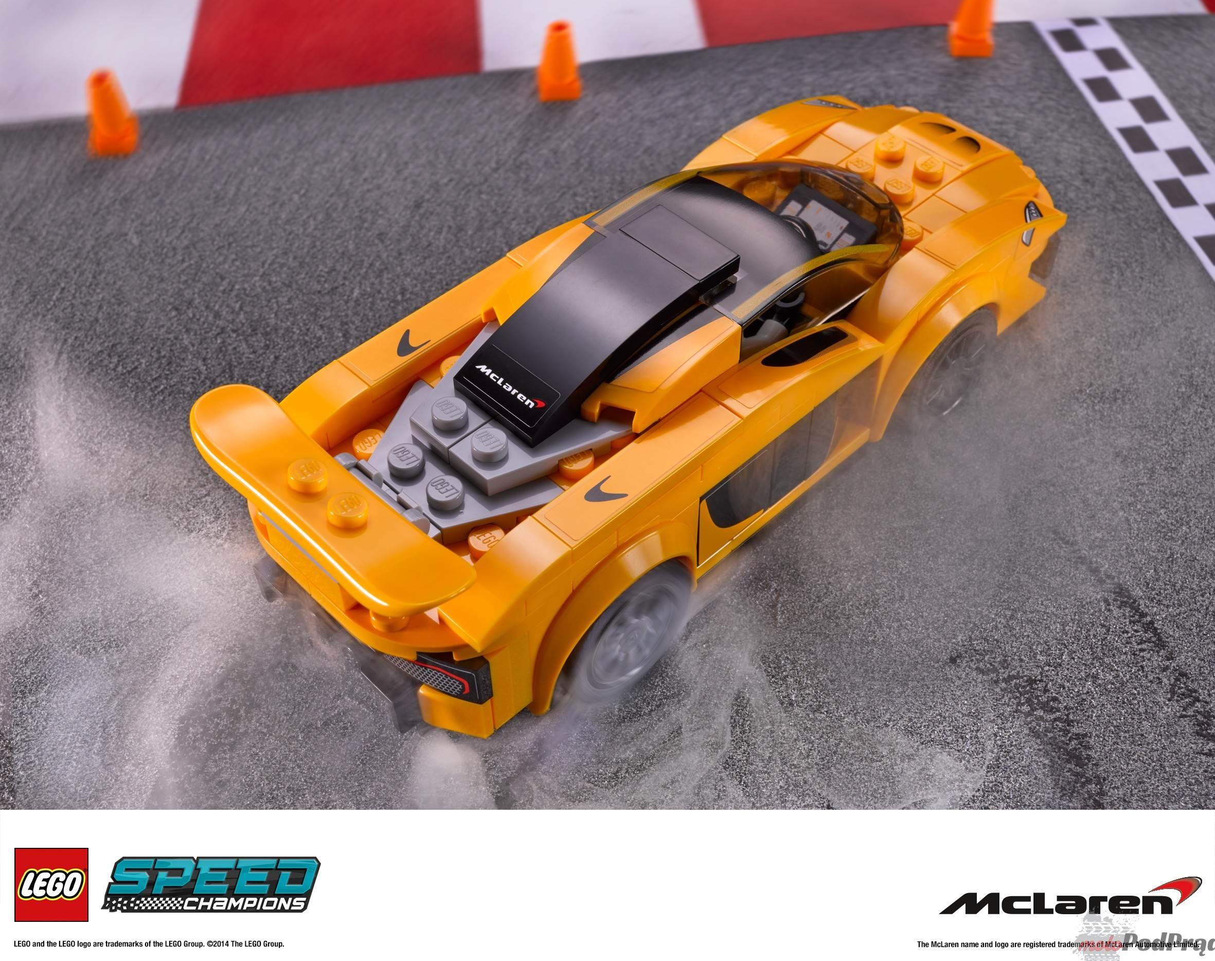 LSC 2HY2014 prod 75909 Porsche, Ferrari i McLaren w wersji LEGO!