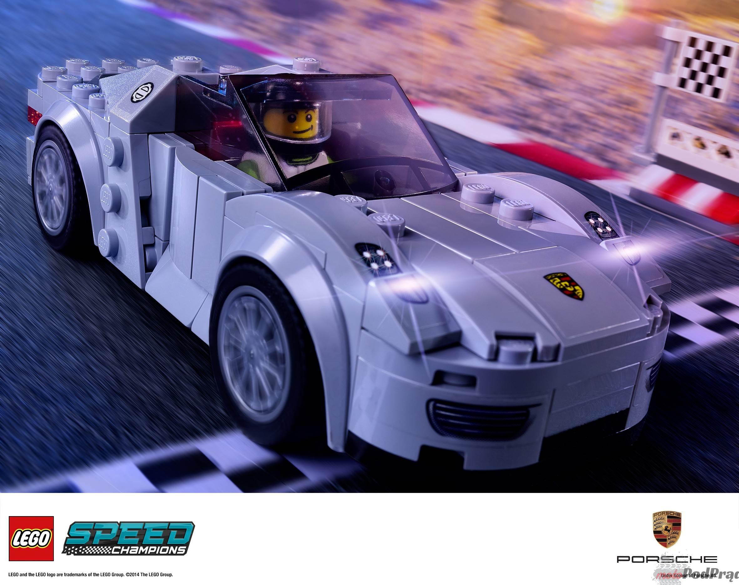 LSC 2HY2014 prod 75910 Porsche, Ferrari i McLaren w wersji LEGO!