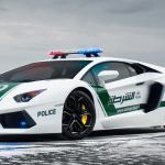 Lamborghini Aventador 150x150 Radiowozy w Dubaju