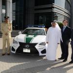 Lexus RC F 150x150 Radiowozy w Dubaju