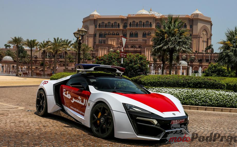 Lykan Hypersport Radiowozy w Dubaju