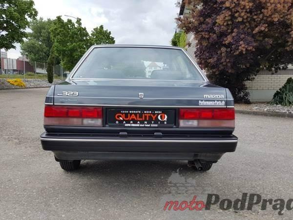 Mazda 323 1 [Znalezione] Mazda 323 1.6i GLX ze Szwajcarii