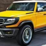 Mercedes GLB yellow 150x150 Przegląd przyszłych Mercedesów, Audi, BMW...