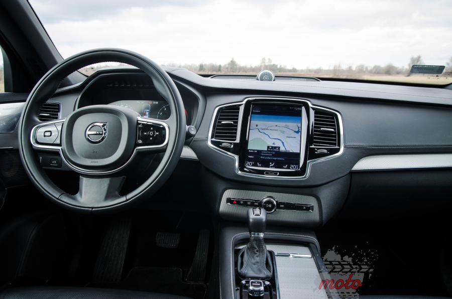 Volvo XC90 T6 9 Test: Volvo XC90 T6   11 miliardów dolarów nie poszło w las!