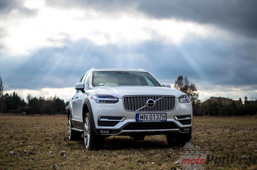 Volvo przód Test: Volvo XC90 T6   11 miliardów dolarów nie poszło w las!