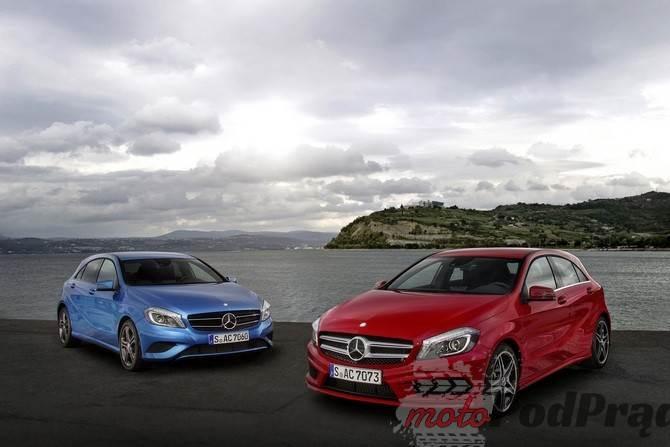 a 2 Mercedes klasy A także jako coupé, roadster i shooting brake?
