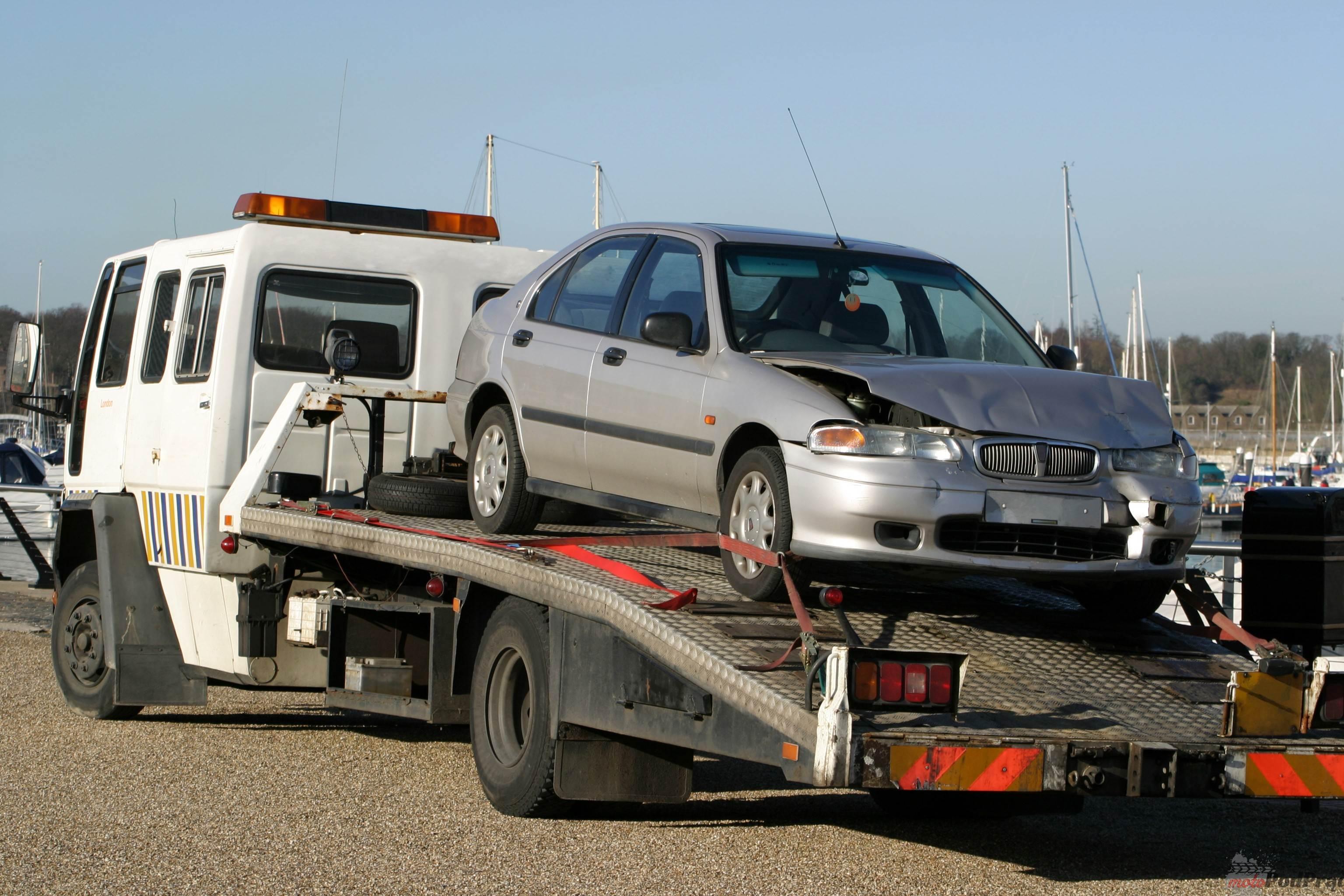 auto po wypadku Auto zastępcze   czym jeździć, gdy nasz wóz jest u mechanika?