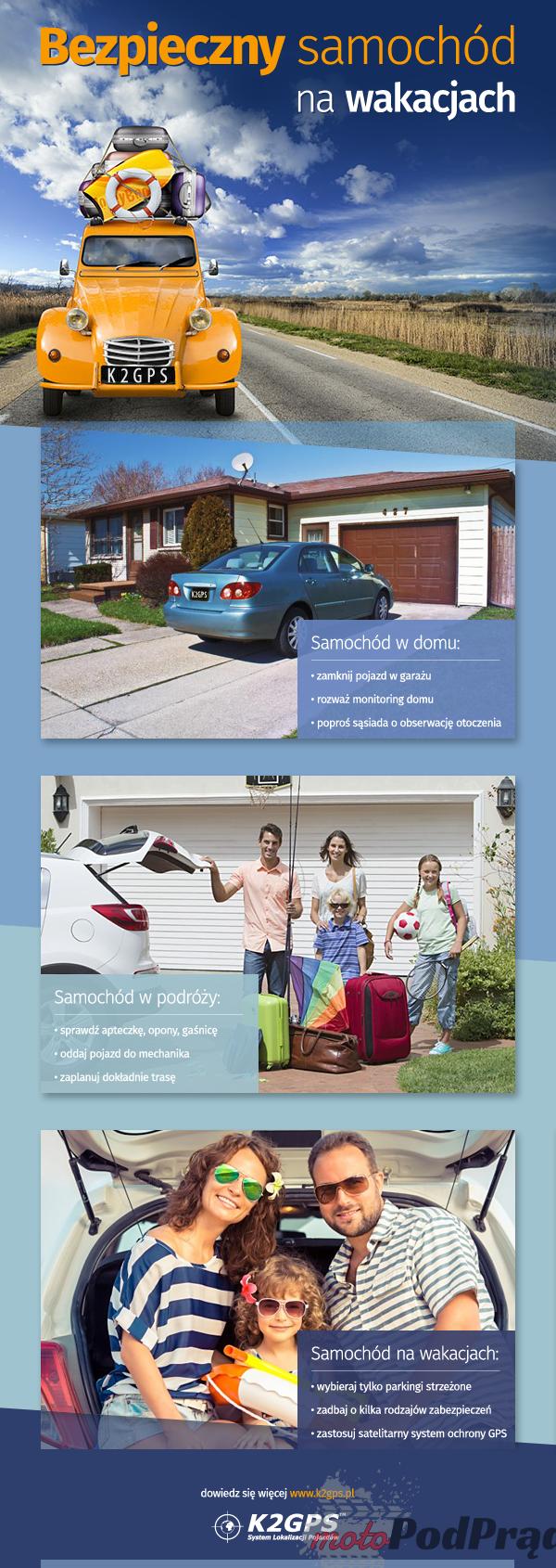 bezpieczny samochod na wakacjach Jak zabezpieczyć samochód na wakacje?