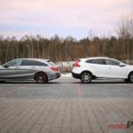 cla vs v40 1 150x150 Porównanie: Mercedes CLA 200 Shooting Brake vs Volvo V40 Cross Country Ocean Race