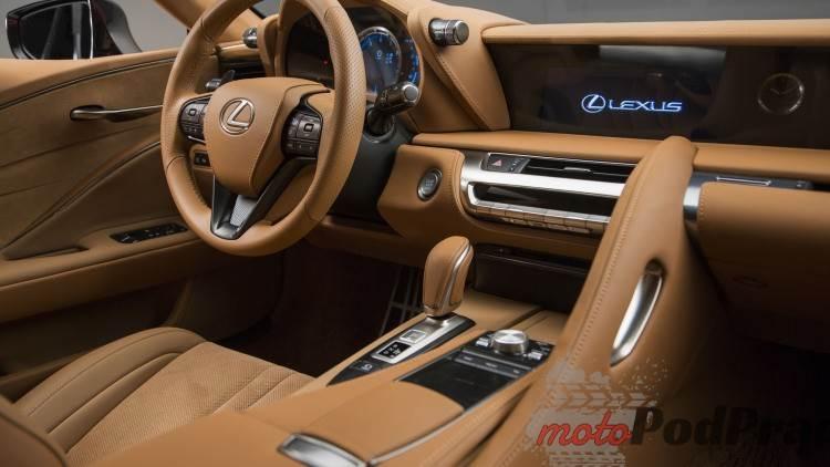lexus lc 500 034 1 Motoryzacyjne szaleństwo   Lexus LC500