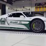 porsche 918 Spyder 150x150 Radiowozy w Dubaju