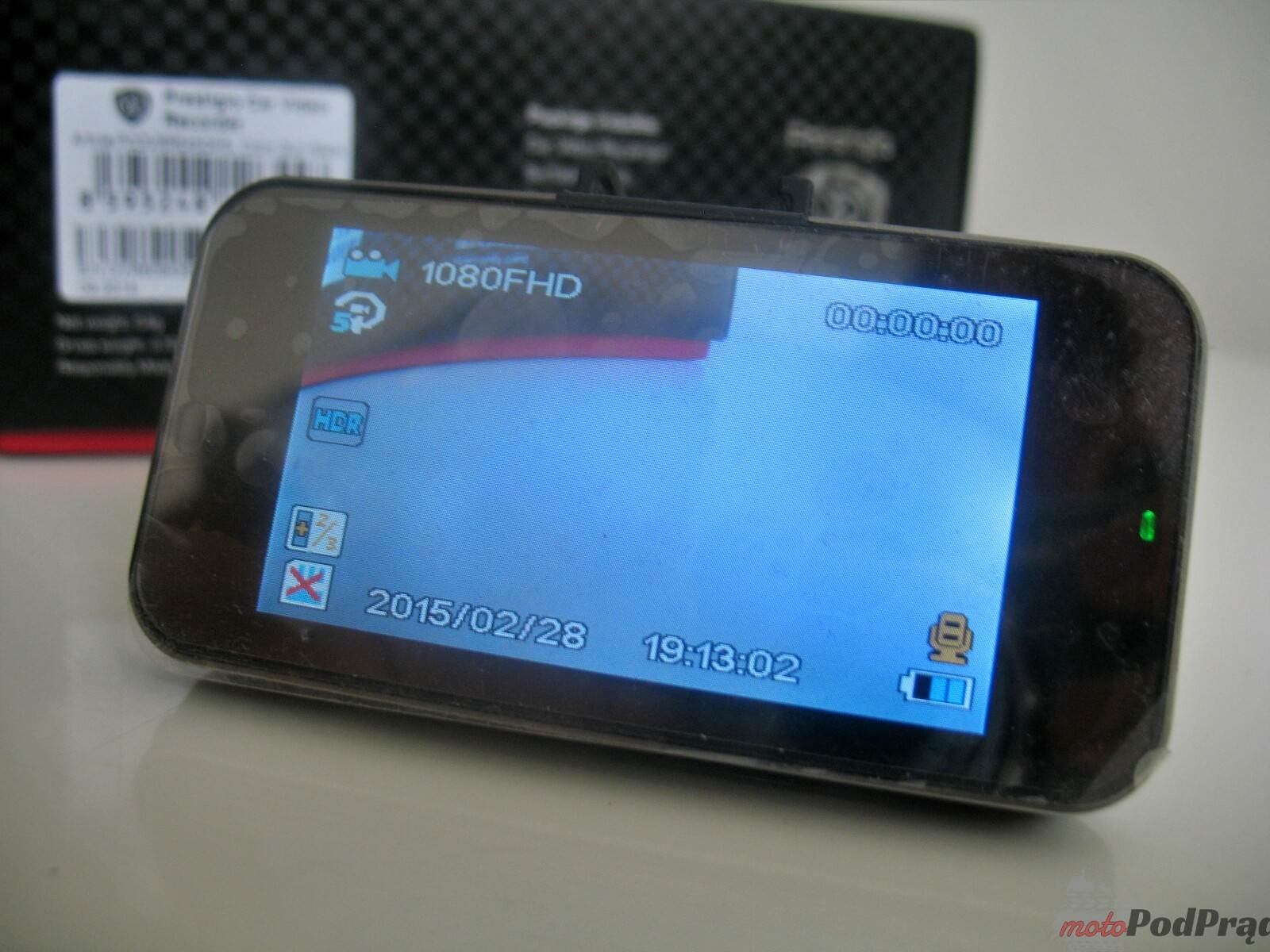 prestigio 545 gps 6 Test: Kamera samochodowa Prestigio Roadrunner 545 GPS