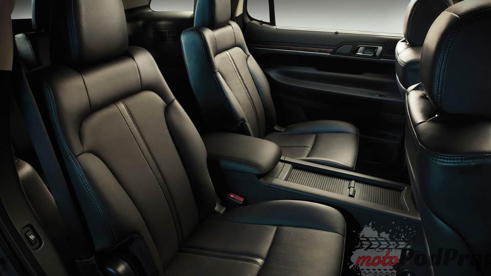 siedzenia Niedostępne w Polsce: Ford Flex i Lincoln MKT